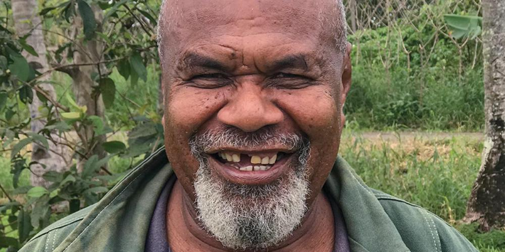 Senitiki Roqara, 55, is planning to plant a second church in a neighboring village in Fiji.
